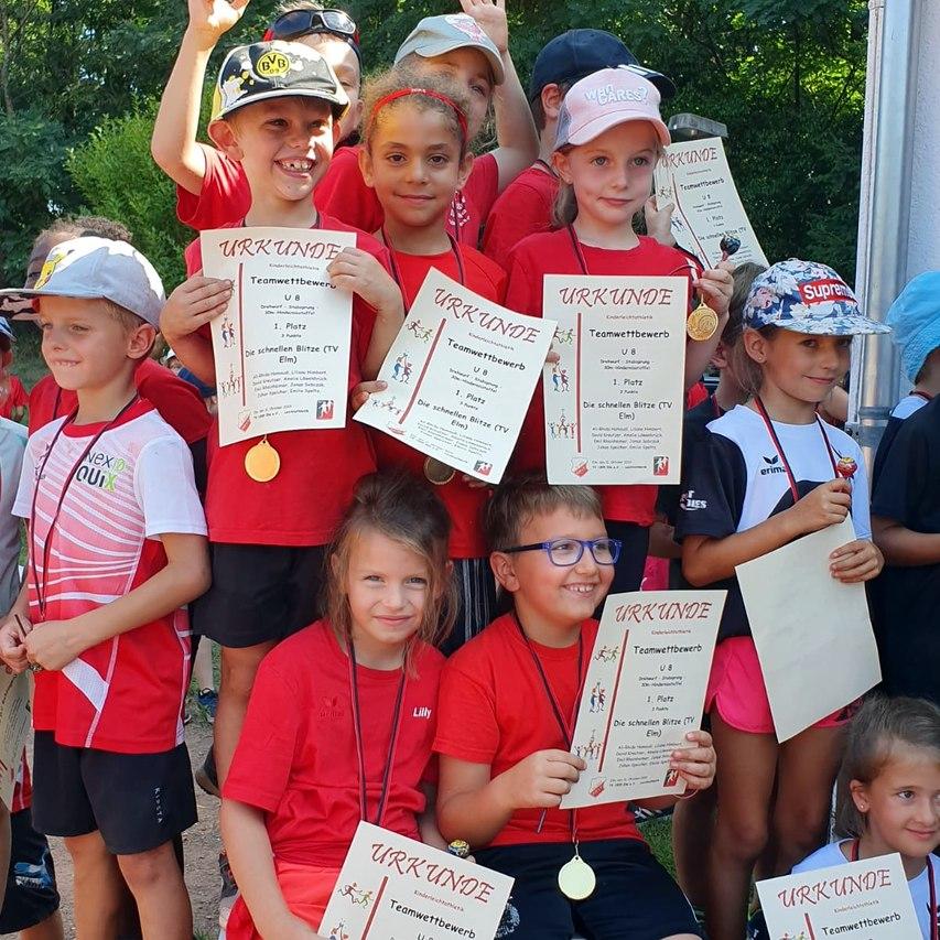 31.08.2019 LA Kreisligaveranstaltung Kinderleichtathletik in Elm