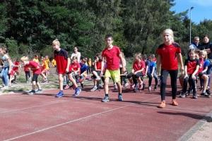 Kinderleichtathletik Kreisliga SLS/MZG Abschlussveranstaltung 2018 in Elm
