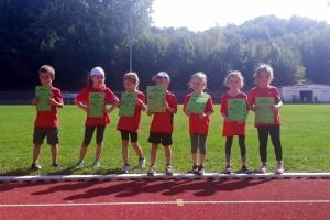 Kinderleichtathletik Wettkampf 2018 in Friedrichsthal