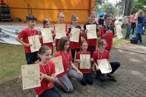 Kinderleichtathletik Wettkampf 2019 in Saarwellingen