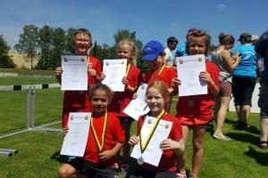 Kinderleichtathletik Wettkampf 2019 in Dillingen