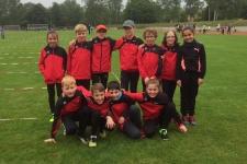 Kinderleichtathletik Wettkampf 2018 in Dillingen